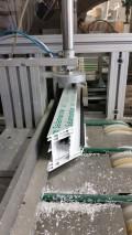 Bild zeigt Produktion eines Fensterrahmens